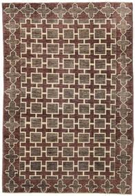 Ziegler Moderne Tapis 180X270 Moderne Fait Main Marron Foncé/Gris Clair (Laine, Pakistan)