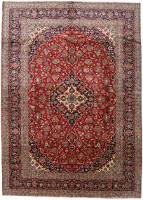 Kashan Tapis 288X408 D'orient Fait Main Rouge Foncé/Marron Foncé Grand (Laine, Perse/Iran)