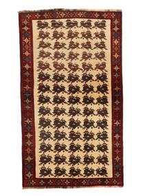 Ghashghaï Tapis 127X205 D'orient Fait Main Rouge Foncé/Beige Foncé (Laine, Perse/Iran)