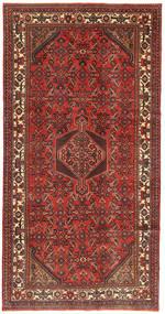 Hamadan Patina Tapis 158X310 D'orient Fait Main Rouge Foncé/Rouille/Rouge (Laine, Perse/Iran)