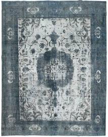 Colored Vintage Tapis 295X367 Moderne Fait Main Gris Clair/Bleu Grand (Laine, Perse/Iran)