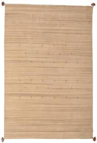 Loribaf Loom Tapis 193X292 Moderne Fait Main Beige Foncé/Beige (Laine, Inde)