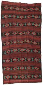 Kilim Semi-Antique Turquie Tapis 145X270 D'orient Tissé À La Main Rouge Foncé/Marron Foncé (Laine, Turquie)