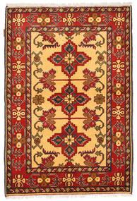 Kazak Tapis 106X161 D'orient Fait Main Marron Clair/Rouge (Laine, Pakistan)