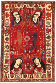 Ghashgai Figural/Pictural Tapis 153X235 D'orient Fait Main Rouille/Rouge/Rouge Foncé (Laine, Perse/Iran)