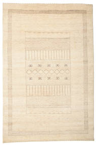 Gabbeh Loribaft Tapis 148X222 Moderne Fait Main Beige (Laine, Inde)
