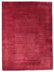 Gabbeh Loribaft Tapis 203X278 Moderne Fait Main Rouge/Rouge Foncé (Laine, Inde)