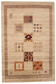 Gabbeh Loribaft Tapis 152X226 Moderne Fait Main Beige/Marron Clair (Laine, Inde)