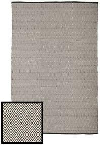 Diamond - Noir/Blanc Tapis 250X300 Moderne Tissé À La Main Gris Clair/Gris Foncé Grand (Coton, Inde)