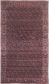 Senneh Tapis 368X639 D'orient Fait Main Marron Foncé/Violet Grand (Laine, Perse/Iran)
