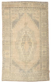 Colored Vintage Tapis 140X230 Moderne Fait Main Jaune/Gris Clair (Laine, Turquie)