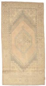 Colored Vintage Tapis 118X225 Moderne Fait Main Beige/Beige Foncé (Laine, Turquie)