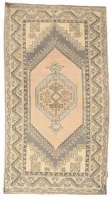 Colored Vintage Tapis 120X216 Moderne Fait Main Gris Clair/Jaune (Laine, Turquie)