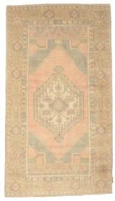 Colored Vintage Tapis 116X206 Moderne Fait Main Beige/Jaune/Beige Foncé (Laine, Turquie)