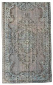 Colored Vintage Tapis 156X256 Moderne Fait Main Gris Foncé/Gris Clair (Laine, Turquie)