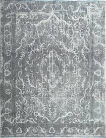 Colored Vintage Tapis 288X378 Moderne Fait Main Gris Clair/Bleu Grand (Laine, Perse/Iran)