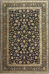 Kashan Patina Tapis 255X385 D'orient Fait Main Noir/Marron Clair Grand (Laine, Perse/Iran)
