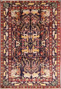 Bakhtiyar Figural/Pictural Tapis 231X332 D'orient Fait Main Rouge Foncé/Noir (Laine, Perse/Iran)