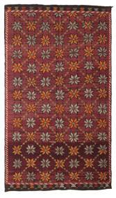 Kilim Semi-Antique Turquie Tapis 180X311 D'orient Tissé À La Main Rouge Foncé/Marron Foncé (Laine, Turquie)