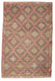 Kilim Semi-Antique Turquie Tapis 191X293 D'orient Tissé À La Main Marron Clair/Marron (Laine, Turquie)