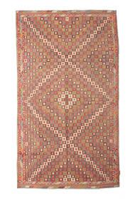 Kilim Semi-Antique Turquie Tapis 167X290 D'orient Tissé À La Main Rouge Foncé/Marron Clair/Rouille/Rouge (Laine, Turquie)