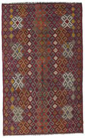 Kilim Semi-Antique Turquie Tapis 182X300 D'orient Tissé À La Main Rouge Foncé/Gris Foncé (Laine, Turquie)