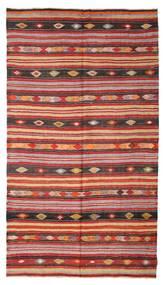 Kilim Semi-Antique Turquie Tapis 180X322 D'orient Tissé À La Main Rouge Foncé/Rouille/Rouge (Laine, Turquie)