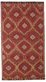 Kilim Semi-Antique Turquie Tapis 175X318 D'orient Tissé À La Main Rouge Foncé/Marron Foncé (Laine, Turquie)