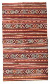 Kilim Semi-Antique Turquie Tapis 187X321 D'orient Tissé À La Main Rouge Foncé/Marron (Laine, Turquie)