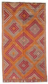 Kilim Semi-Antique Turquie Tapis 170X306 D'orient Tissé À La Main Rouge Foncé/Marron (Laine, Turquie)