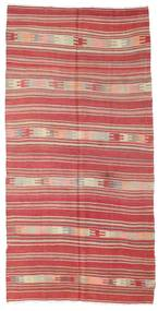 Kilim Semi-Antique Turquie Tapis 144X285 D'orient Tissé À La Main Rouille/Rouge/Rose Clair (Laine, Turquie)