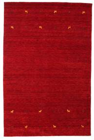 Gabbeh Loom Two Lines - Rouge Tapis 190X290 Moderne Rouge/Rouge Foncé (Laine, Inde)