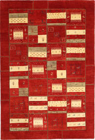 Gabbes Persan Patchwork Tapis 202X305 Moderne Fait Main Rouille/Rouge (Laine, Perse/Iran)