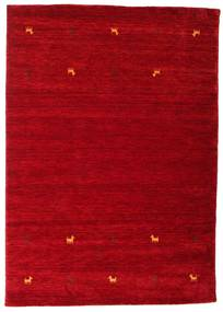 Gabbeh Loom Two Lines - Rouge Tapis 160X230 Moderne Rouge/Rouge Foncé (Laine, Inde)