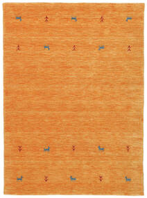 Gabbeh Loom Two Lines - Orange Tapis 140X200 Moderne Orange (Laine, Inde)