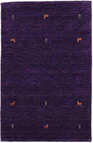 Gabbeh Loom Two Lines - Violet Tapis 100X160 Moderne Violet Foncé (Laine, Inde)