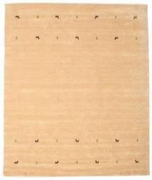 Gabbeh Loom Two Lines - Beige Tapis 240X290 Moderne Marron Clair/Jaune (Laine, Inde)