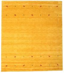 Gabbeh Loom Two Lines - Jaune Tapis 240X290 Moderne Orange (Laine, Inde)