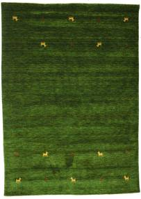 Gabbeh Loom Two Lines - Vert Tapis 160X230 Moderne Vert Foncé (Laine, Inde)