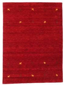 Gabbeh Loom Two Lines - Rouge Tapis 140X200 Moderne Rouge/Rouge Foncé (Laine, Inde)