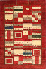 Gabbes Persan Patchwork Tapis 203X303 Moderne Fait Main Rouille/Rouge/Beige (Laine, Perse/Iran)