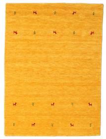 Gabbeh Loom Two Lines - Jaune Tapis 140X200 Moderne Orange (Laine, Inde)