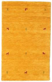 Gabbeh Loom Two Lines - Jaune Tapis 100X160 Moderne Orange (Laine, Inde)