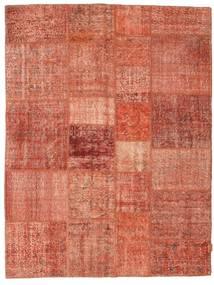 Patchwork Tapis 175X230 Moderne Fait Main Rouge/Rouge Foncé/Rose Clair (Laine, Turquie)