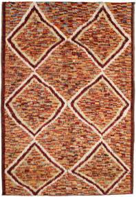Barchi/Moroccan Berber Tapis 197X292 Moderne Fait Main Rouge Foncé/Rouge (Laine, Afghanistan)