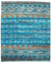 Quito - Turquoise Tapis 240X290 Moderne Fait Main Bleu Turquoise/Bleu (Soie, Inde)