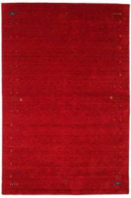 Gabbeh Loom Frame - Rouge Tapis 190X290 Moderne Rouge/Rouge Foncé (Laine, Inde)