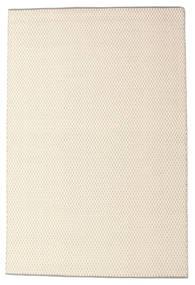 Bobbie - White_Grey Tapis 160X230 Moderne Tissé À La Main Beige/Gris Clair (Laine, Inde)