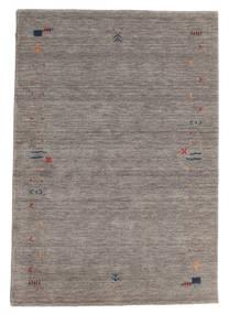 Gabbeh Loom Frame - Gris Tapis 140X200 Moderne Gris Clair/Gris Foncé (Laine, Inde)