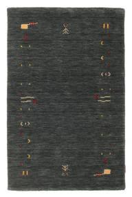 Gabbeh Loom Frame - Gris Foncé/Vert Tapis 100X160 Moderne Vert Foncé (Laine, Inde)